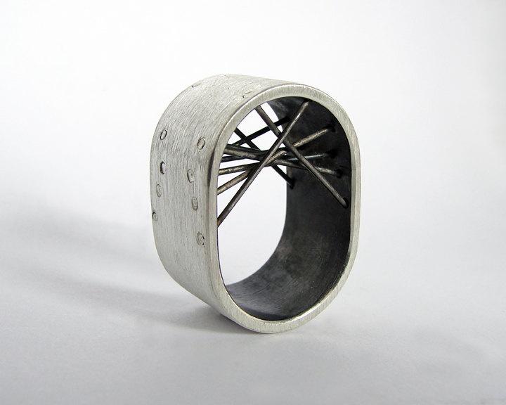 Silver Ring. €150,00, via Etsy.