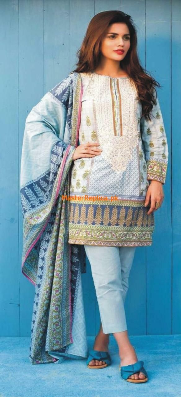 41bf57442a Check Out Khaadi Luxury Embroidered Lawn Collection 2018 Replica at Master  Replica Pakistan Call/WhatsApp: +923322622227 #pakiclothing ...