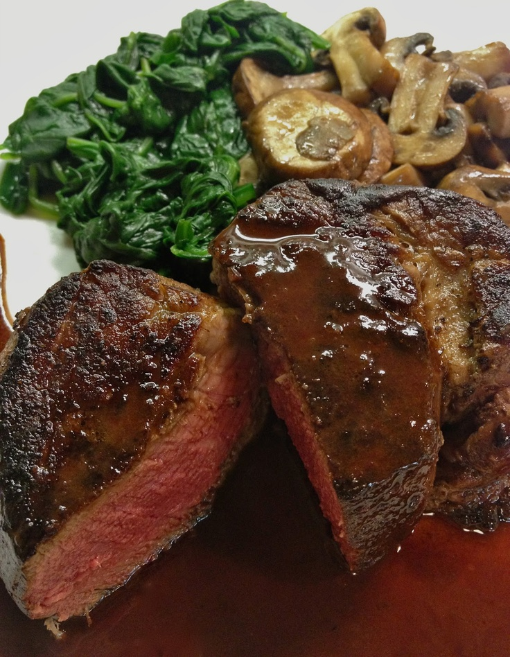 Filet Mignon with Red Wine Sauce + tips on cooking with wine. this dish is easy, elegant, and romantic!
