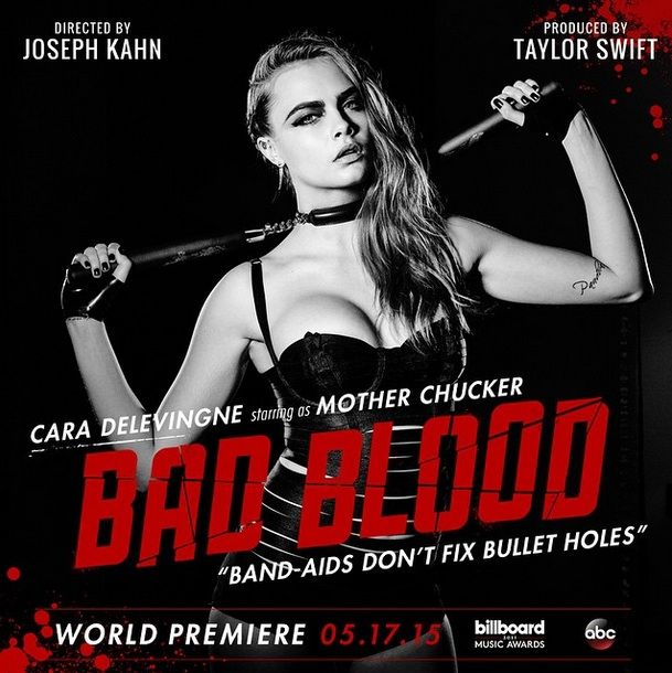 Cara Delevingne Is A Dominatrix In Taylor Swift's Latest 'Bad Blood' Poster, So What Is This Video Even About?