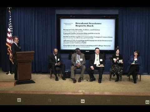 American Commonwealth Partnership, AAC, et al, at the White House (1/10/12) -- Part Two