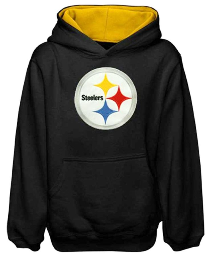 Outerstuff Kids' Pittsburgh Steelers Hoodie Sweatshirt