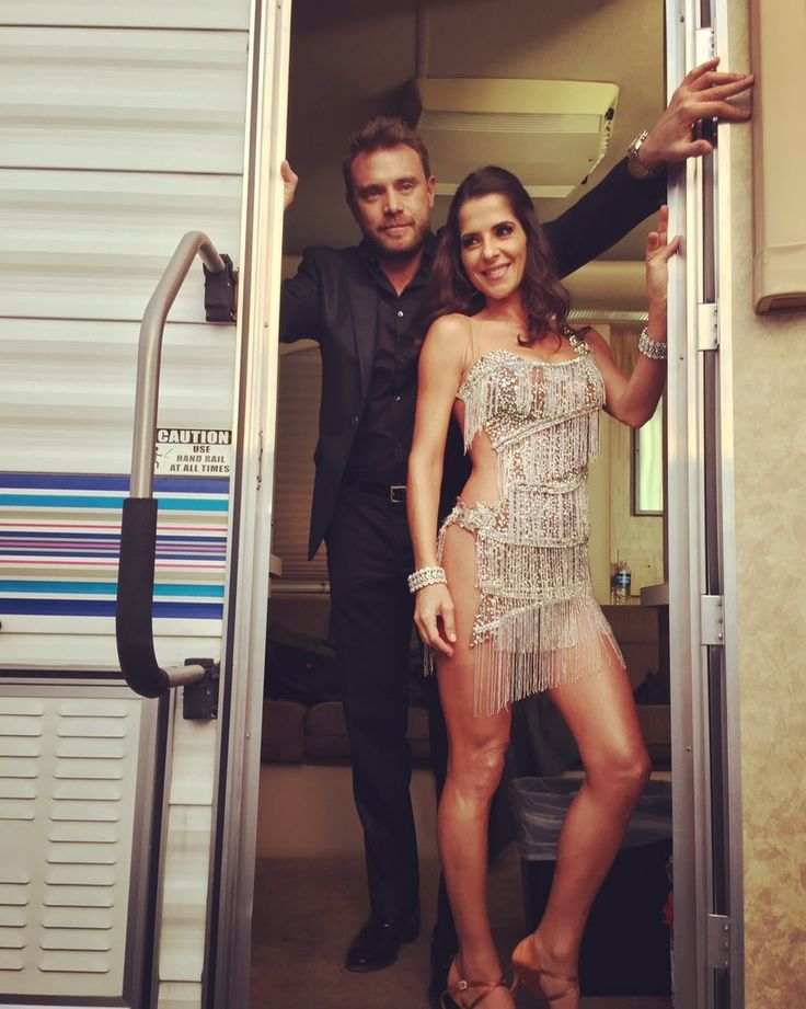 General Hospital's Billy Miller And Kelly Monaco At Dancing With The Stars