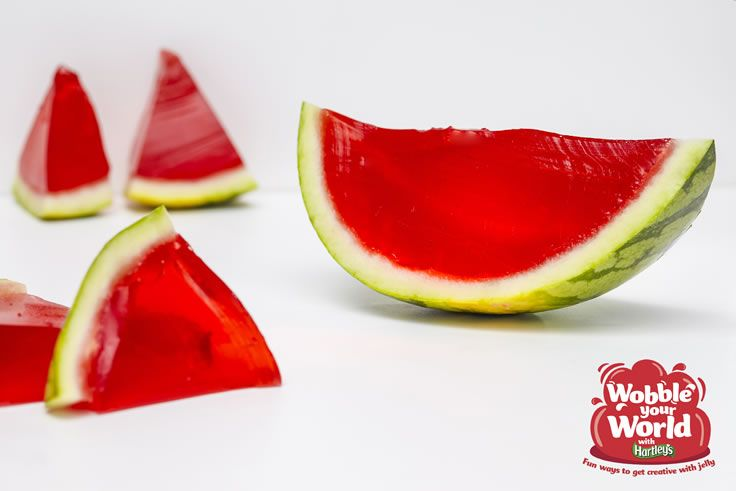 Watermelon Jelly Slices Recipe