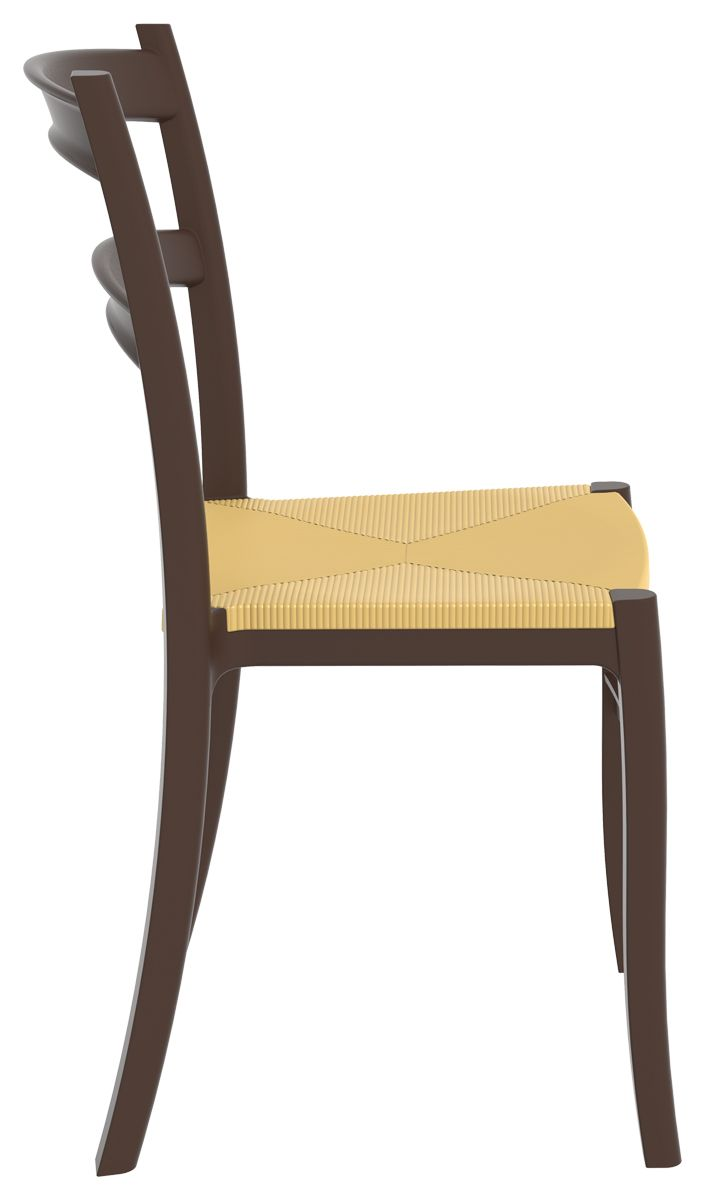 [Siesta Exclusive | Contract Collection | TIFFANY S Chair] Stacking Chair  With The