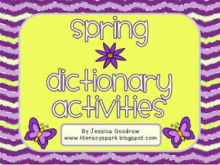 11 best dictionary skills uil images on pinterest dictionary this product includes five spring themed dictionary activities for grades all activities require knowledge of abc order to at least the and letter fandeluxe Images