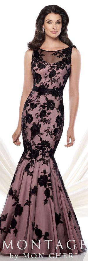 Montage by Mon Cheri Spring 2015 - Style No. 115961 www.montagebymoncheri.com #eveningdresses #motherofthebridedresses
