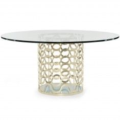 Caracole Ride The Waves Dining Table