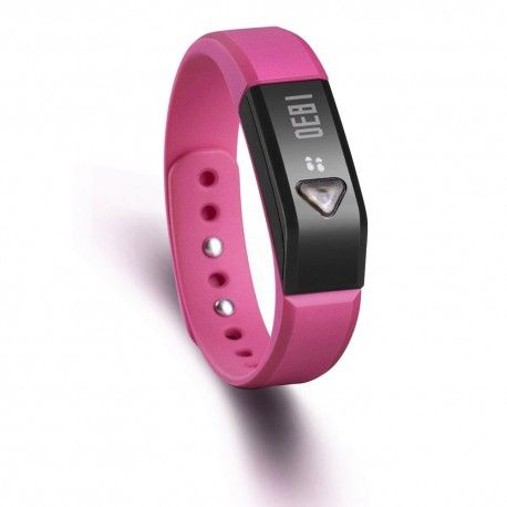 Vidonn Oled Smart Wristband Bracelet with Sports & Sleep Tracking IP67 Bluetooth V4.0 for IOS & Android - X5 - Rose Model  VNSE01RS Condition  New  Vidonn Wristband termurah hanya di Gudang Gadget Murah. Vidonn smart bracelet is a wearable smart devices, containing three-dimensional motion sensor, vibration motors.Users can record real-time exercise and slepping data everyday with bracelet. It can be synchronized with a Bluetooth smartphone or PC - Rose
