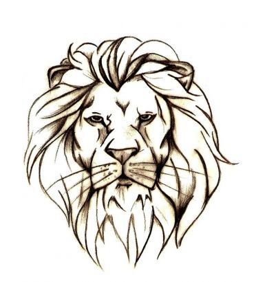 Lion Head Free Tattoo Design || Tattoo from Itattooz