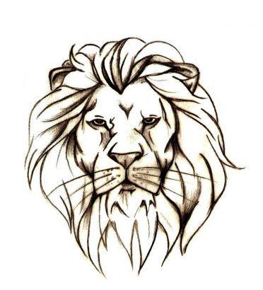 best 25 simple lion tattoo ideas on pinterest. Black Bedroom Furniture Sets. Home Design Ideas
