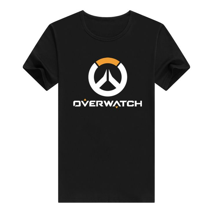 Hot Gamer Tee Shirt Gift for Boyfriend OW LOGO T Shirt Watch Over Men's Tee Shirt Hip Hop Brand Clothing //Price: $14.80 & FREE Shipping //  #videogames #games #electronics #technology #tech #electronic   #device #gadget #gadgets #geek