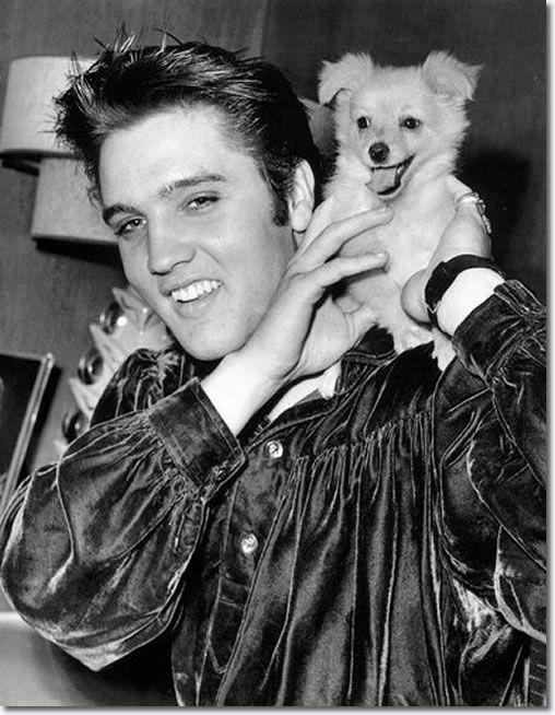 Elvis Presley and 'Sweet Pea' : October 18, 1956.