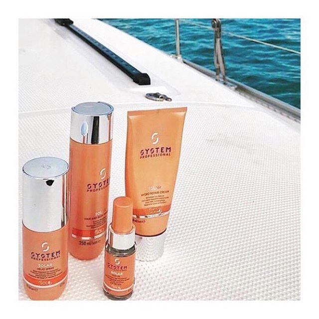 IT'S HERE • & just in time for the sun☀️ @systemprofessional Solar Range designed to protect the hair from damage through sun exposure! with key ingredients being Avocado Oil, protects against moisture loss. Also includes UV filters to absorb UV radiation.... you no longer have to worry about your hair when enjoying your time at the beach🏖