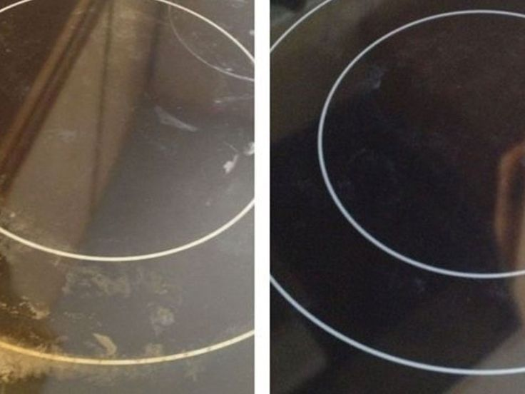Βάζει ενά μαγικό συστατικό στην κεραμική εστία της κουζίνας και την κάνει να φαίνεται σαν καινούργια! - Daddy-Cool.gr