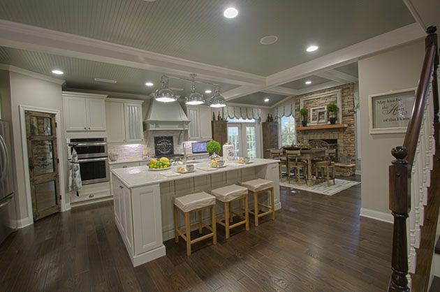 Fischer Homes Marshall Model Interior Our House Pinterest Models Home And Marshalls
