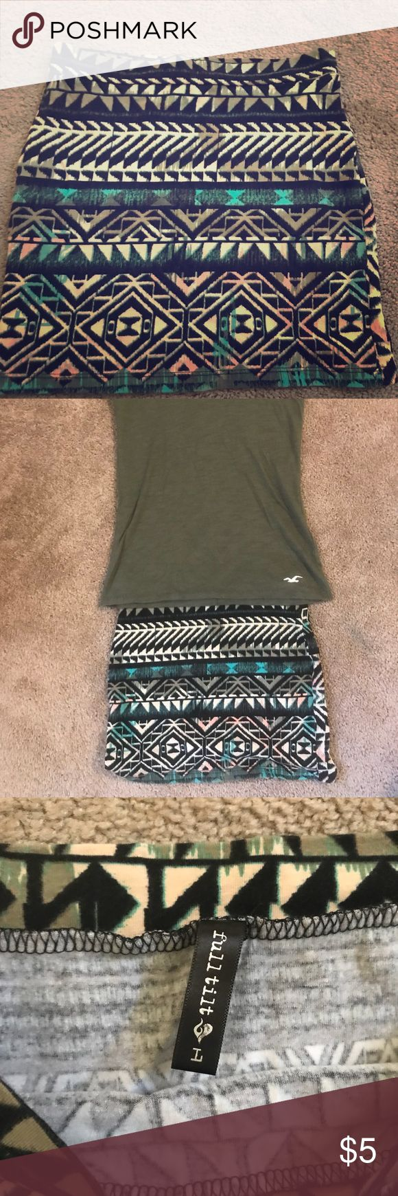Tilly's girls tribal print skirt size Large. Cute! This is a cute little tribal mini shirt by Tilly's. Great worn alone or with tights under it :-) Girls size Large, excellent condition, worn one time! Tilly's Dresses Casual