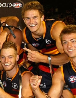 NAB Cup winners!! Congrats to @Adelaide Crows