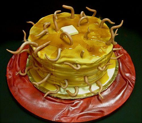 Hotel Transylvania pancakes cake