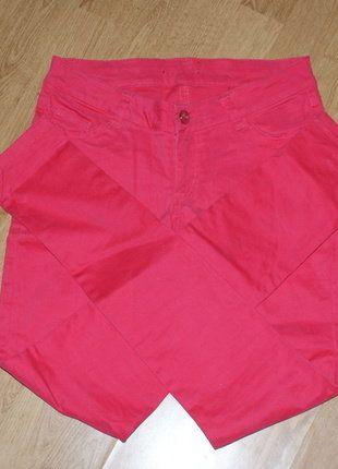Kup mój przedmiot na #vintedpl http://www.vinted.pl/damska-odziez/rurki/16539134-obcisle-spodnie-w-kolorze-malinowym