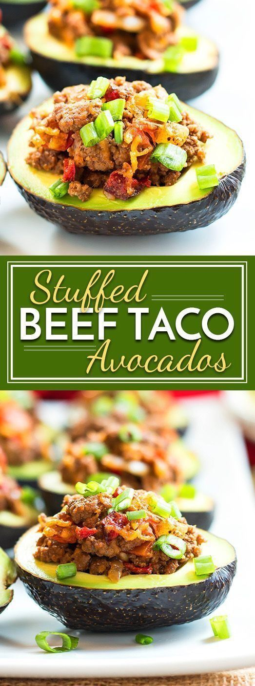 9 Best Low Carb Keto Stuffed Avocado Recipes – Avocado Boats – Keto Whoa – Keto
