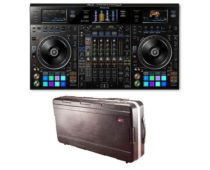 Pioneer DDJ-RZX Rekordbox Digital DJ Controller  Gator ATA Travel Case
