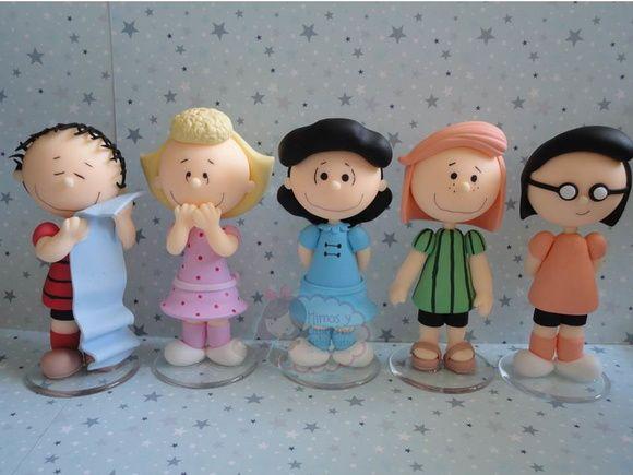 Kit com 5 personagens a escolher (12 cm)