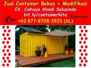 Container Office Bali 0877-8708-3925    +62 877-8708-3925 (XL), Jual Container Modifikasi   Jasa Pembuatan Kontainer Bekas dan Custom