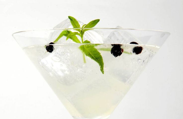 Gin-tonic cocktail