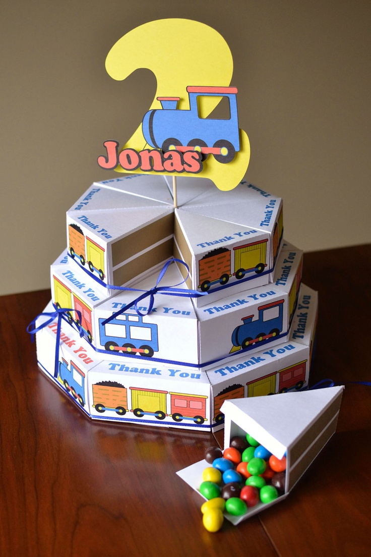 Birthday Train Party Decorations, Thomas the Train, Train Birthday Party Package - Small Custom Package with Name and Age. $50.00, via Etsy.