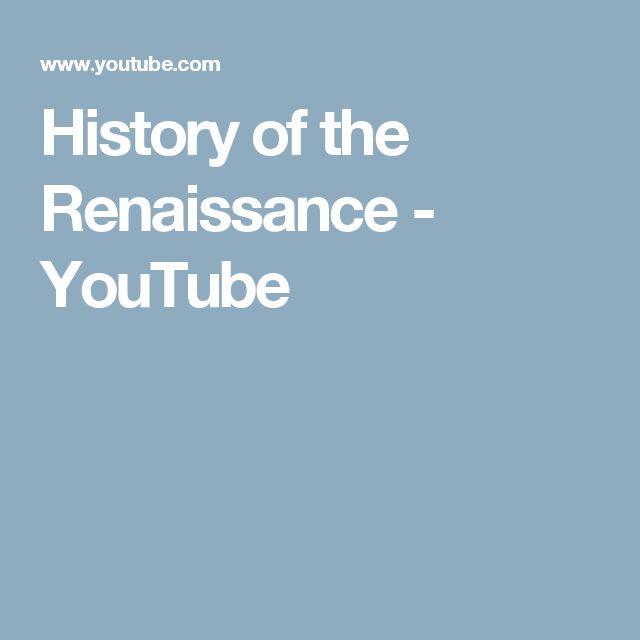 History of the Renaissance - YouTube