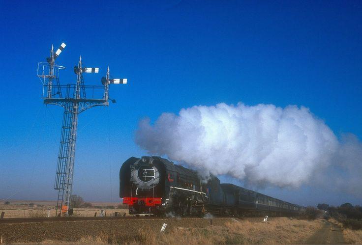 South African Steam: 25NC 3454 Bloemfontein to Bethlehem