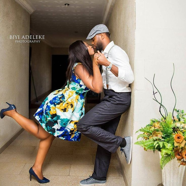 One more kiss! Shot by @biyiadeleke #pre-wedding #kiss #marriage