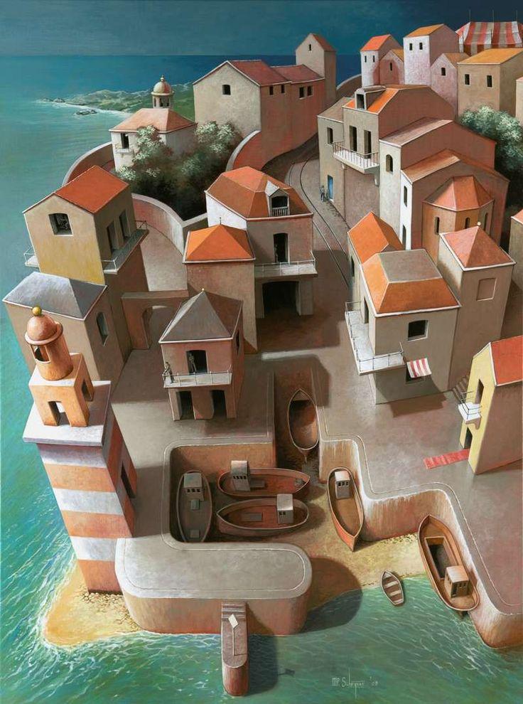 Michiel Schrijver - Last day of the summer. 120 x 80 cm. 2008