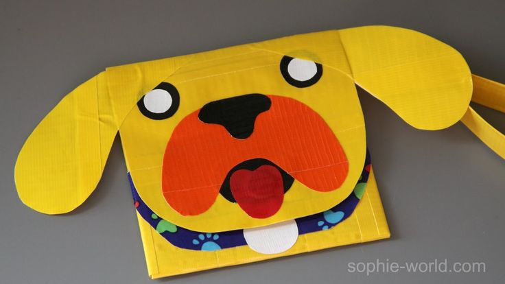 How to make a PUG duct tape clutch! | Sophie's World