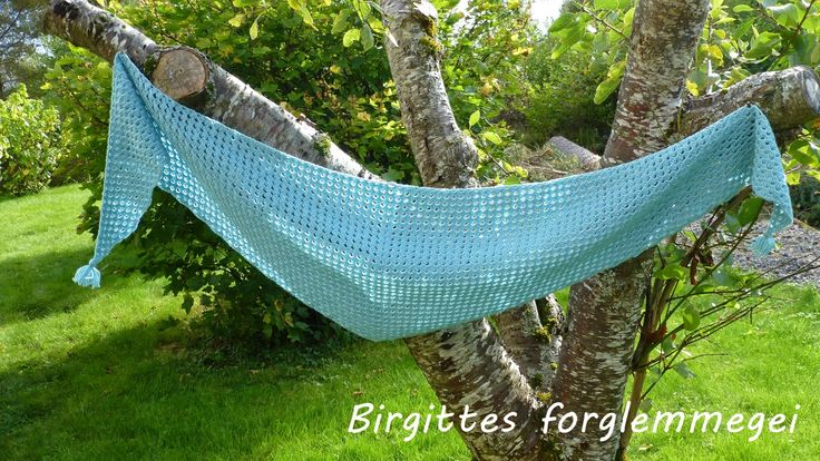 Handmade by BiR: Ruth sjal - nytt mønster / Ruth shawl - new pattern