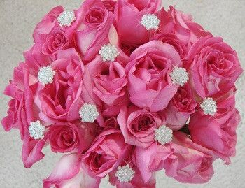 Sparkling Crystal Bouquet Jewelry