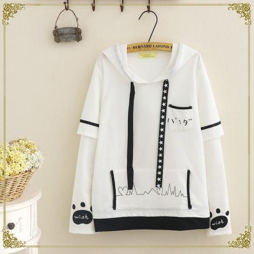 Áo hoodie con vật hoạt hình dễ thương,