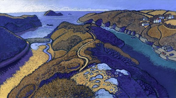 Solfach by Chris Neale. A landscape artist working in Wales.