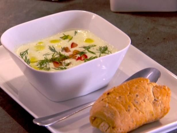 Get Cool Cucumber Soup Recipe from Food Network