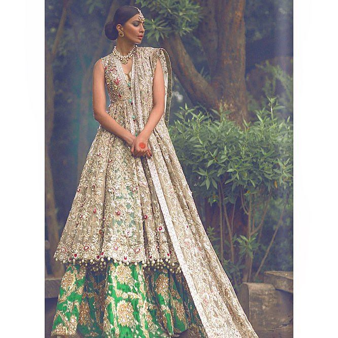 'The Jasmine Court' collection by Élan by desi_couture