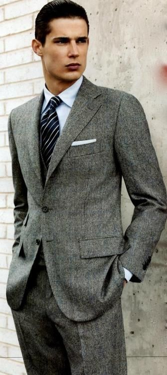 Menswear in the traditional sense is menswear the way menswear was meant to be worn. Emphasis on the pocket square.
