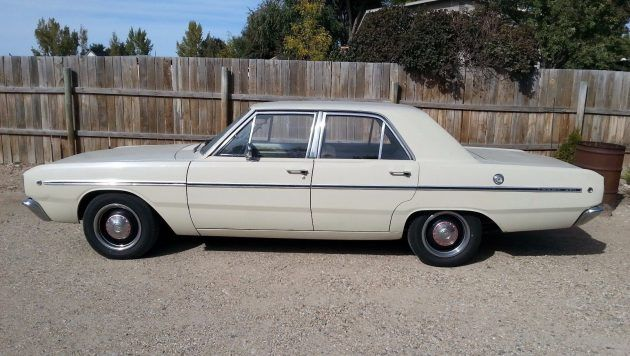 Four Doors For More Fun: 1968 Dodge Dart #Drivers #Dodge - http://barnfinds.com/four-doors-fun-1968-dodge-dart/