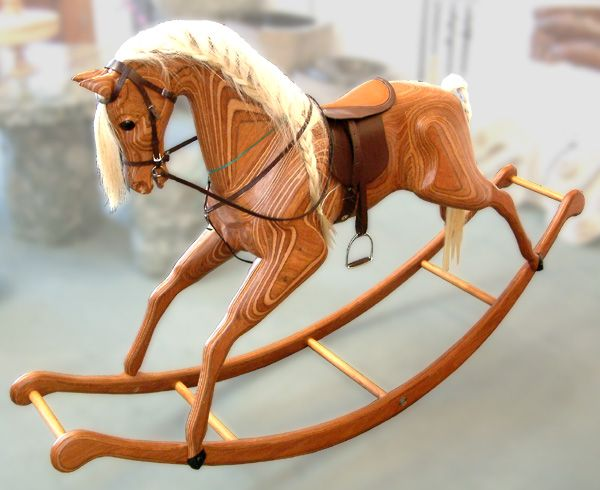 Large Wooden Rocking Horse Plans - WoodWorking Projects ...
