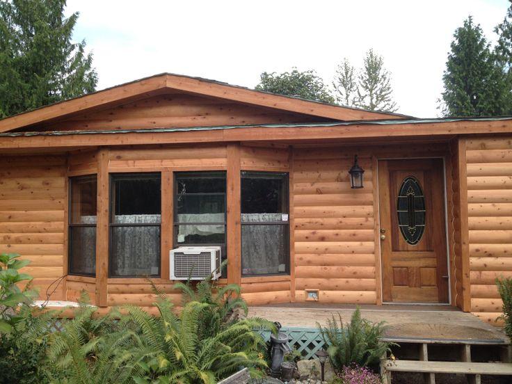 25 best stuff to buy images on pinterest cedar log log for Buy log siding