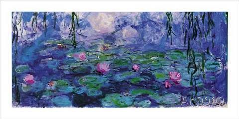 Claude Monet - Nymphéas 1920