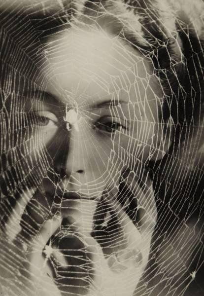 Les annees vous guettent (Nusch Eluard), 1932. Photo by Dora Maar