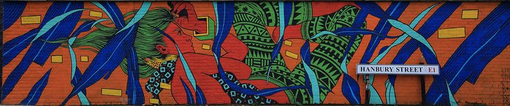 Bricklane - street art - Londres