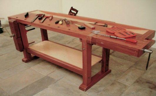 Marcenaria - a bancada do marceneiro, sua composição, estrutura e finalidade | Cursos a Distância CPT