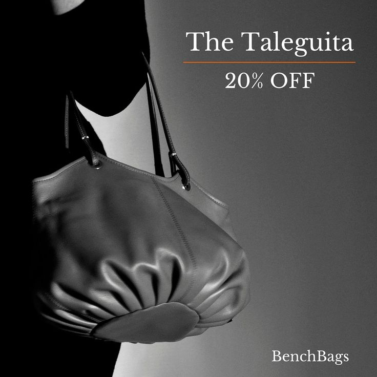 "Enjoy your 20% discount code on all the ""Taleguitas"" until Monday, March 14 th. Discount Code: fkaDzsfmxo  #Shoulderbag #leatherbag #fashionbag"